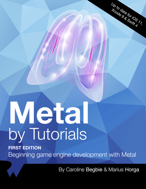Metal by Tutorials book cover