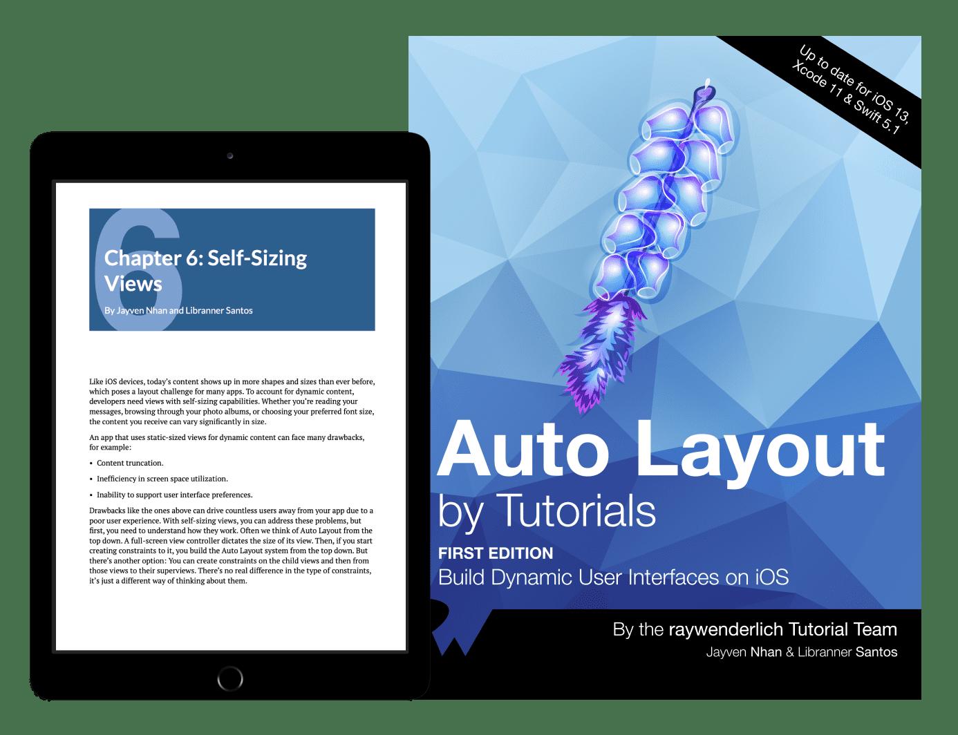 Auto Layout by Tutorials