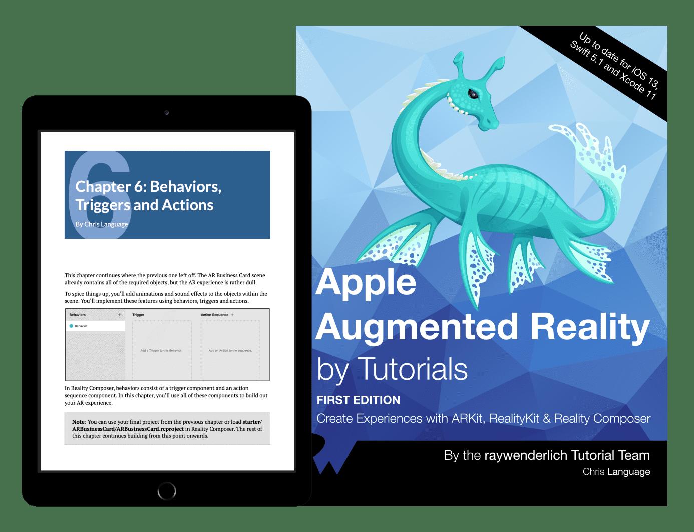Apple AR by Tutorials