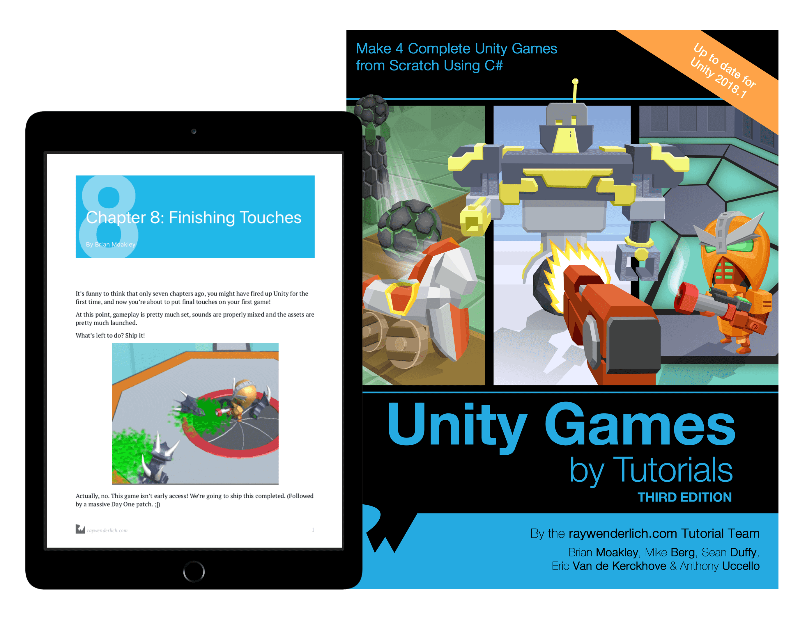 Unity Games by Tutorials
