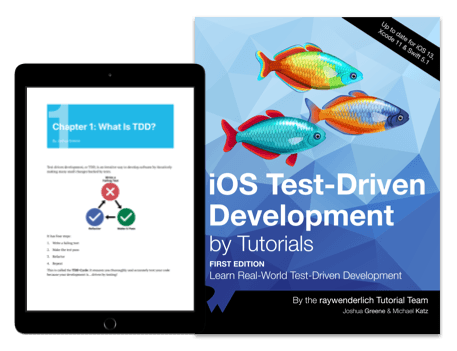 iOS Test-Driven Development by Tutorials