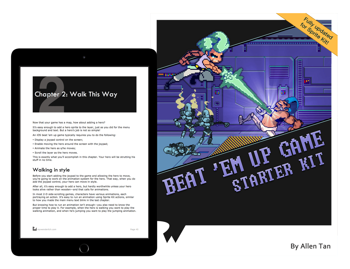 Beat 'Em Up Game Starter Kit book cover