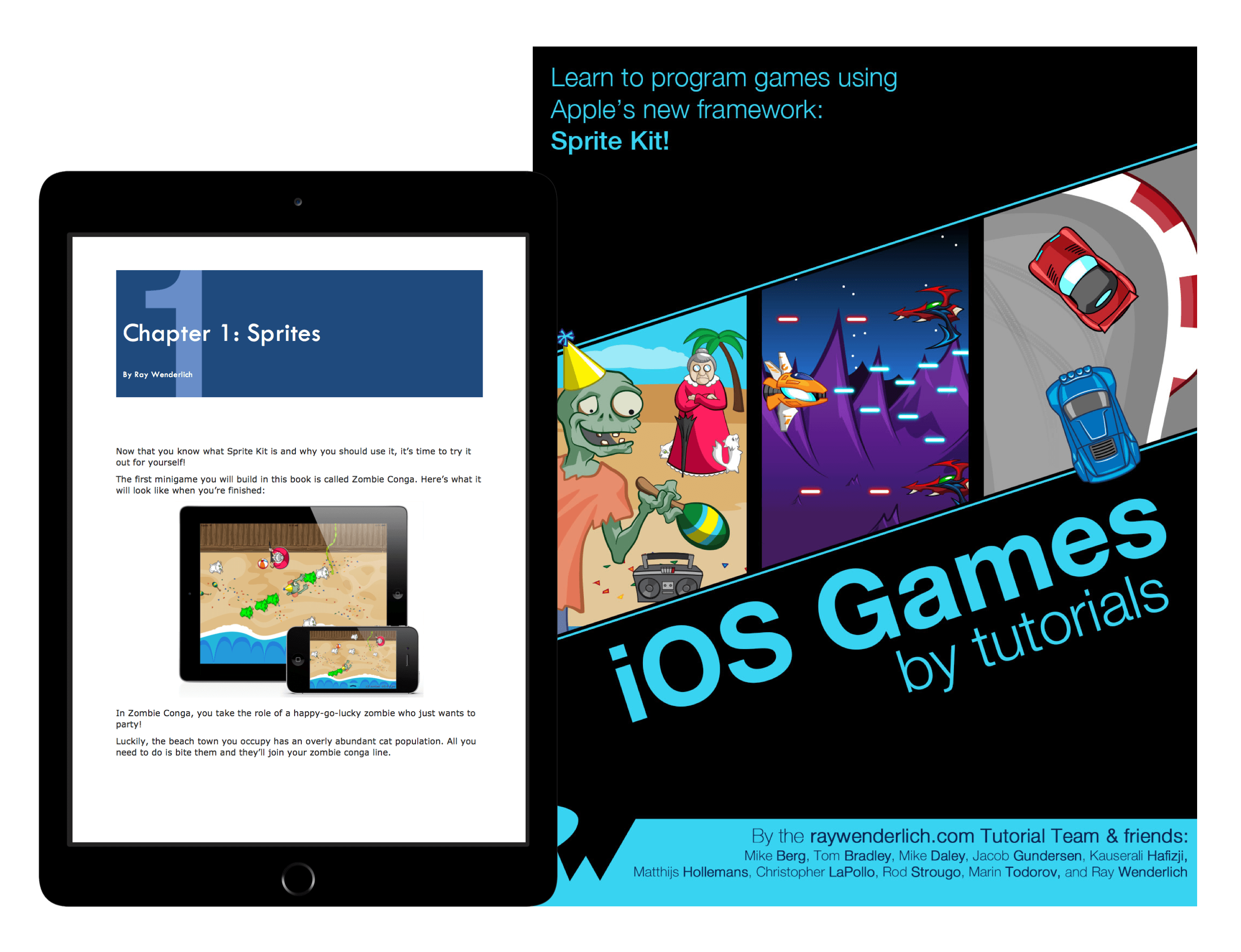 iOS Games by Tutorials book cover
