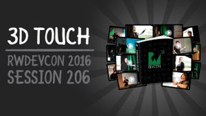 Session 206: 3D Touch