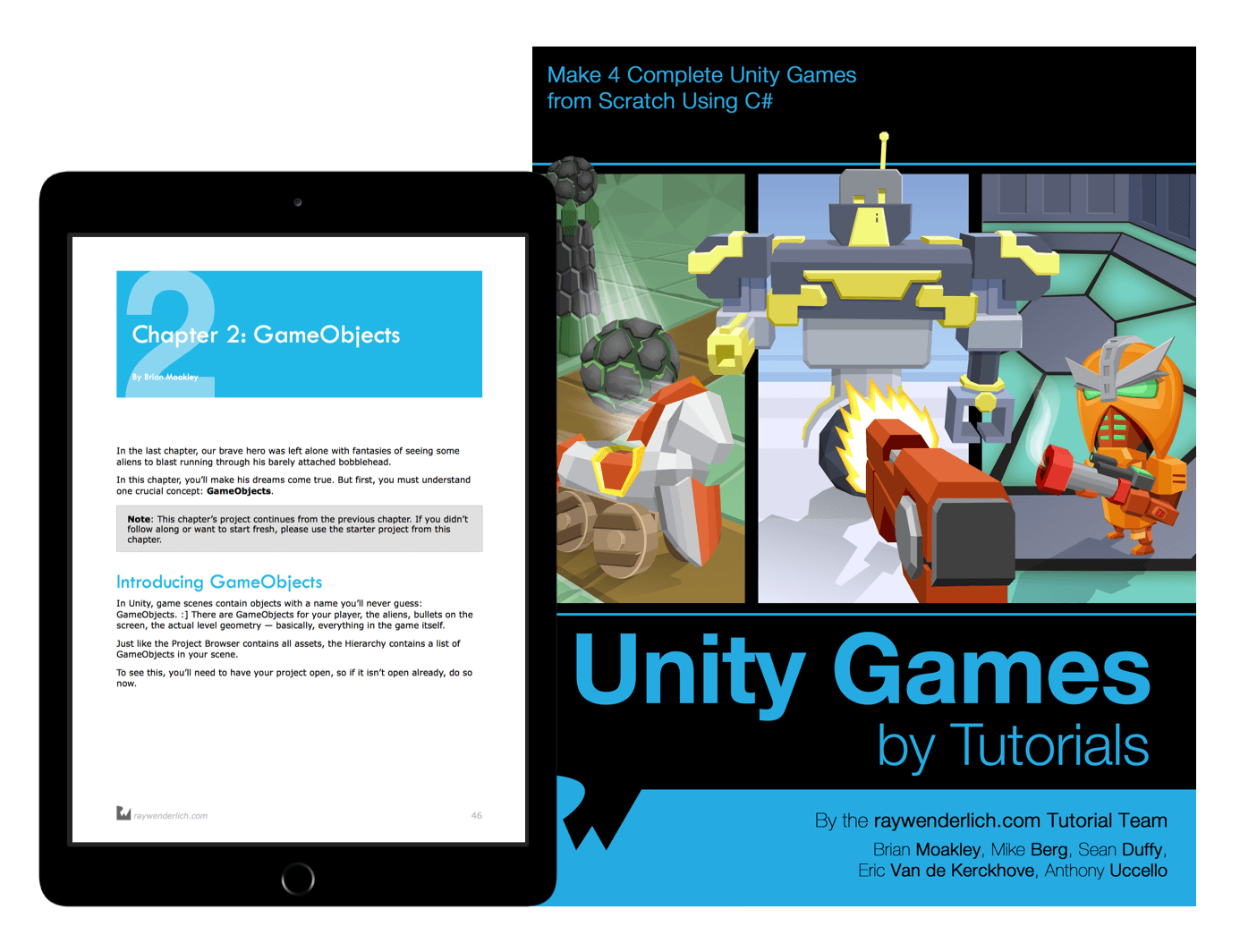 Unity Games by Tutorials book cover