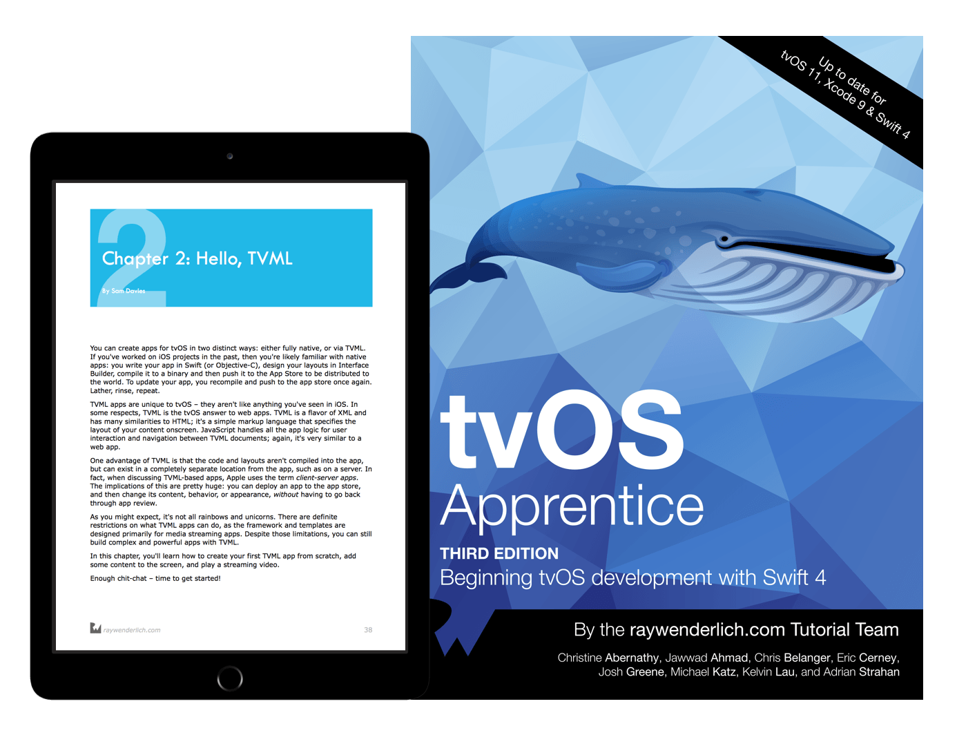 tvOS Apprentice book cover