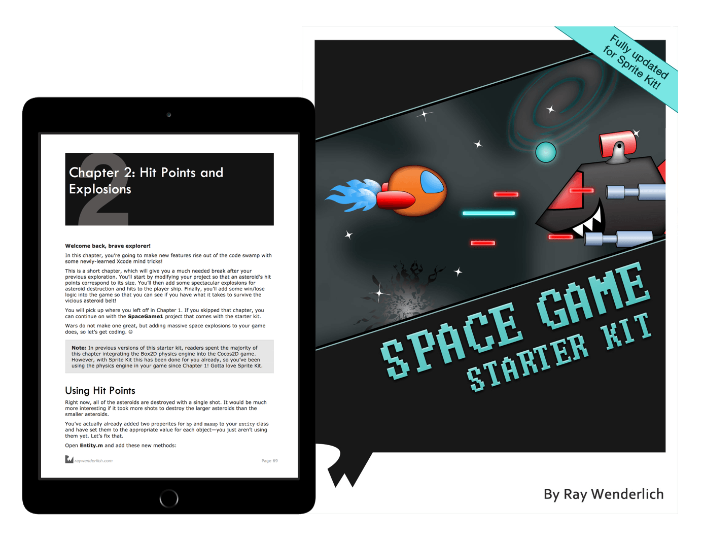 Space Game Starter Kit book cover