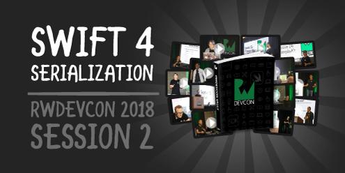 2. Swift 4 Serialization