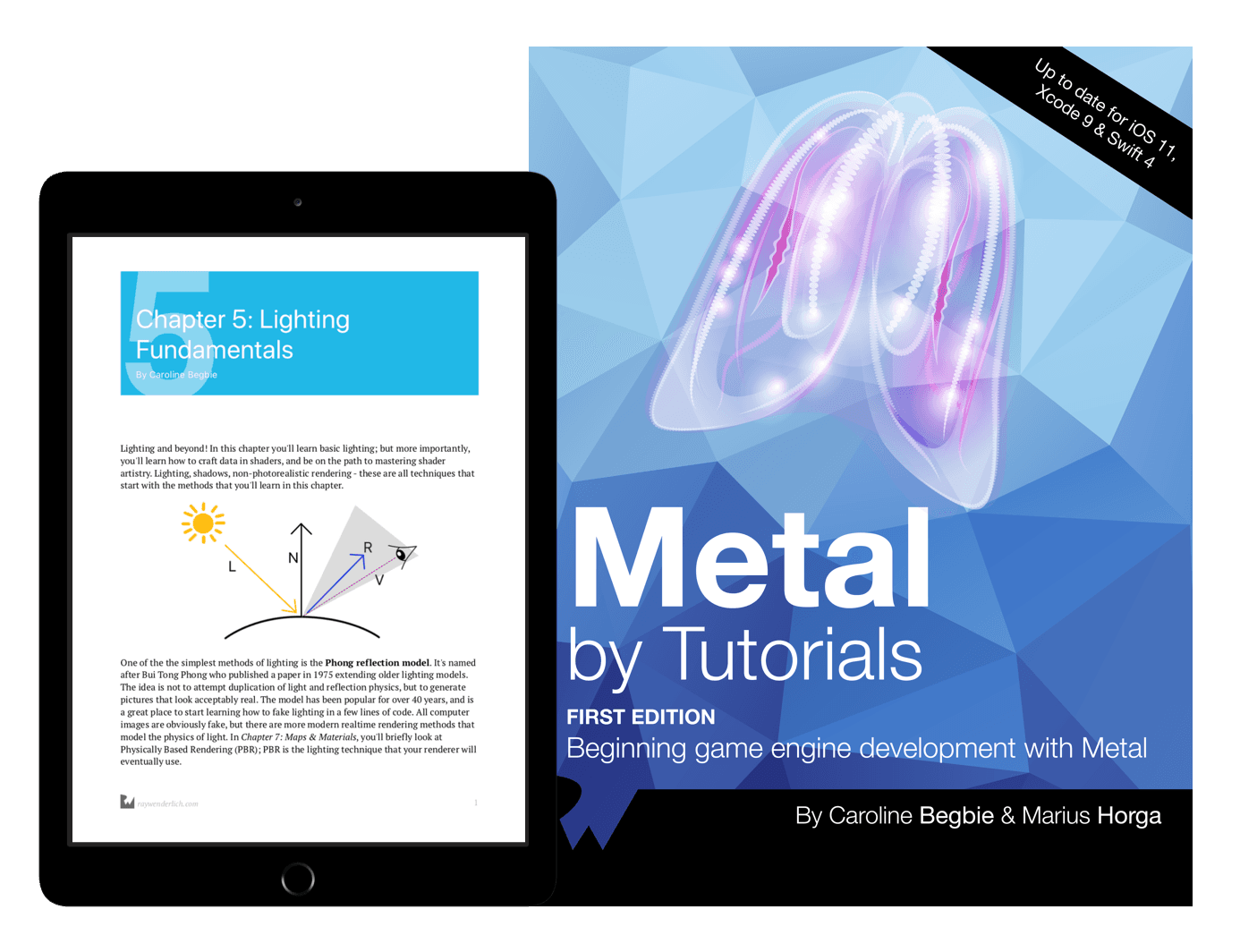 Metal: Beginning game engine development with Metal book cover