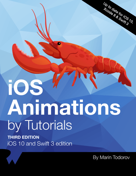 iOS Animations by Tutorials