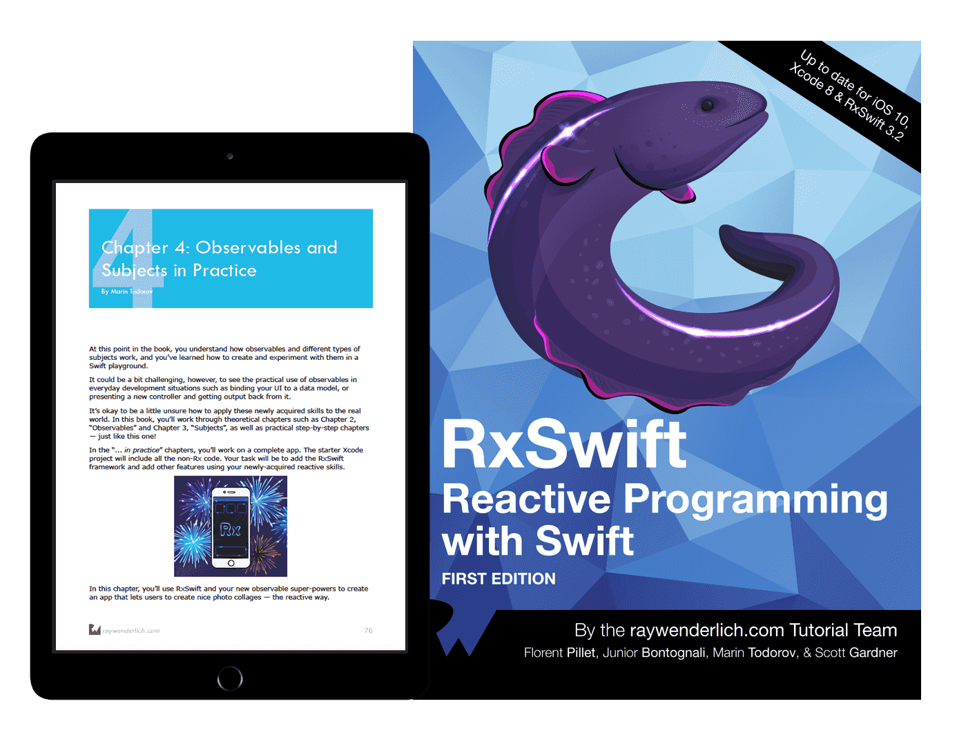 RxSwift book cover