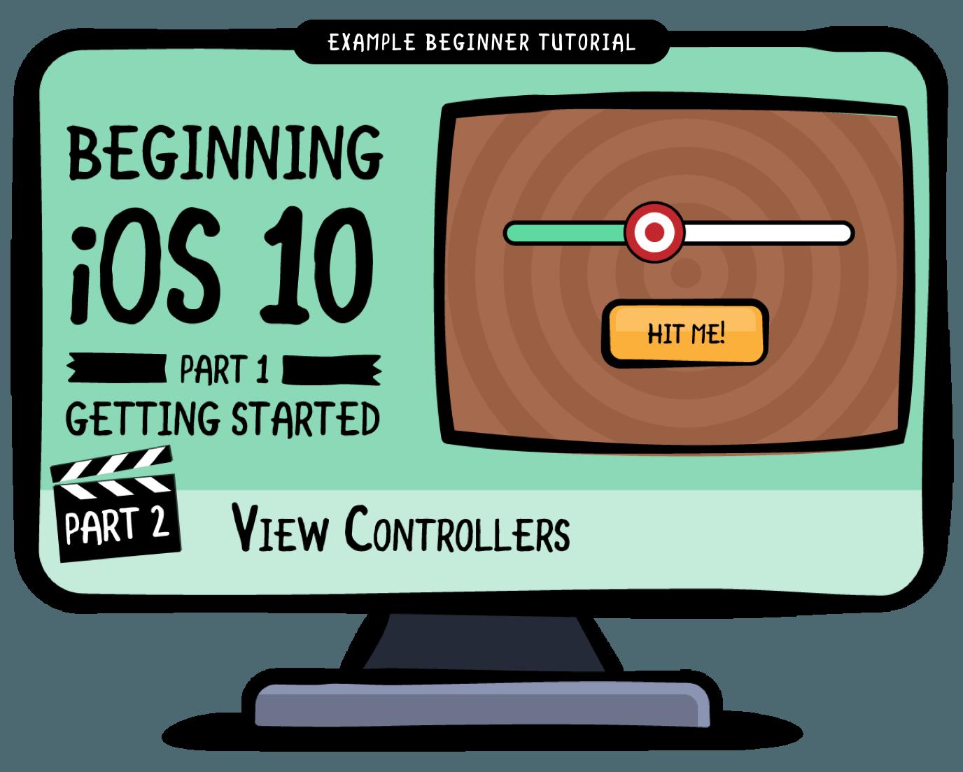 free iOS beginner tutorial