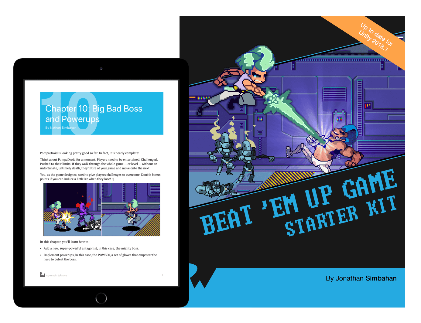 Beat 'Em Up Game Starter Kit - Unity book cover