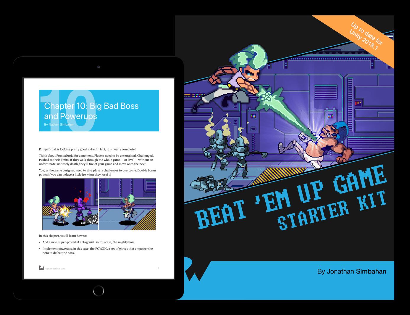 Beat 'Em Up Game Starter Kit book cover